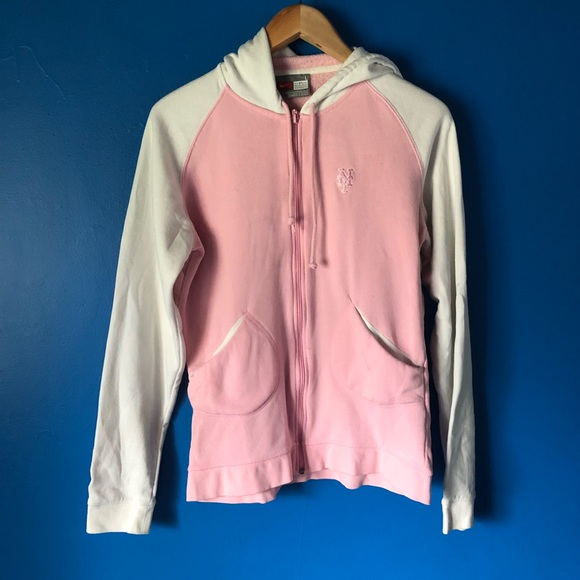 new product a99d1 e5132 Nike | Pink Mets Hoodie